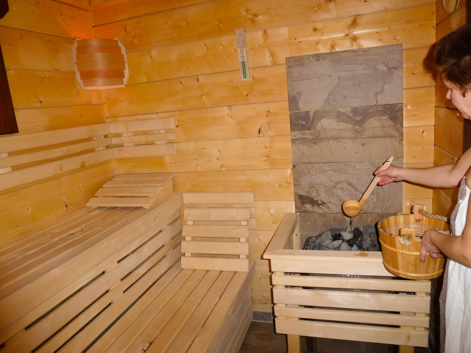 Sauna-Aufguß